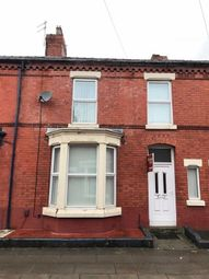 Thumbnail 3 bed terraced house to rent in Wendover Avenue, Aigburth, Liverpool