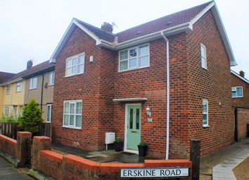 Thumbnail 3 bedroom semi-detached house for sale in Erskine Road, Hartlepool