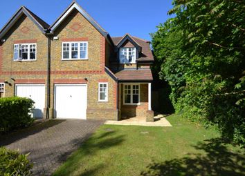 Thumbnail 4 bed semi-detached house to rent in Loriners Close, Cobham