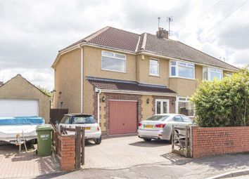 Thumbnail 4 bed semi-detached house for sale in Queensholm Crescent, Bromley Heath, Bristol