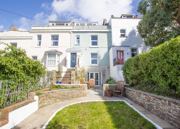Thumbnail 4 bed terraced house for sale in Brunswick Place, Stoke, Plymouth