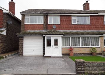 Thumbnail 4 bed semi-detached house for sale in Walmer Avenue, Bishop Auckland