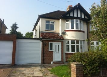 Thumbnail 3 bed semi-detached house to rent in Northcote Avenue, Surbiton