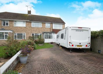Thumbnail 5 bed semi-detached house for sale in Oakleigh Road, Worthing
