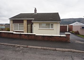 Thumbnail 3 bed detached bungalow for sale in Basildene Close, Abergavenny