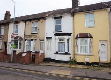 Thumbnail 3 bedroom terraced house for sale in Richmond Road, Gillingham
