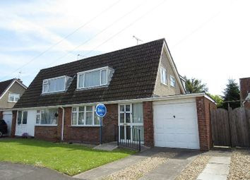 Thumbnail 3 bed semi-detached house for sale in Elm Close, Yatton, Bristol