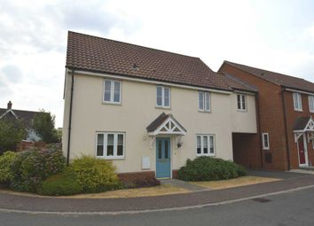 Thumbnail 3 bed link-detached house for sale in Worcester Road, The Hampdens, New Costessey, Norwich