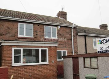 Thumbnail 3 bed terraced house to rent in Barwick Street, Murton, Seaham