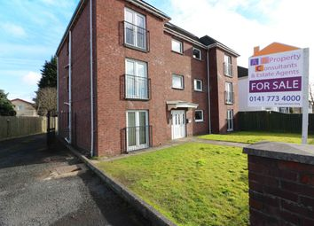 Thumbnail 2 bed flat for sale in Springboig Road, Springboig