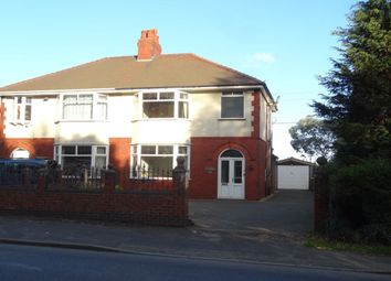 Thumbnail 3 bed semi-detached house for sale in Longridge Road, Grimsargh, Preston