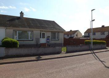 Thumbnail 3 bed semi-detached bungalow for sale in Church Road, Duffus, Elgin