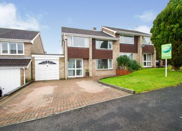 Thumbnail 3 bed semi-detached house for sale in Jasmine Close, Swanwick, Alfreton