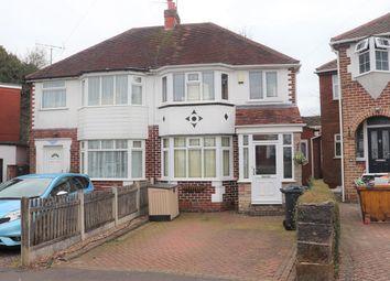 Thumbnail 3 bed semi-detached house for sale in Sylvia Avenue, West Heath, Birmingham
