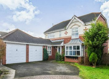 Thumbnail 4 bed detached house for sale in Ruffhams Close, Wheldrake, York