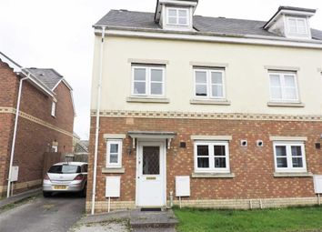 Thumbnail 3 bed semi-detached house for sale in Ger Y Nant, Birchgrove, Swansea