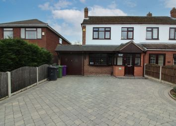Thumbnail 3 bed semi-detached house for sale in Springhill Road, Wednesfield, Wolverhampton
