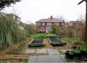Thumbnail 4 bed semi-detached house for sale in Rochester Way, London