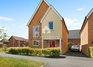 Thumbnail 3 bed detached house to rent in Plover Road, Stanway, Colchester