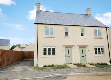 Thumbnail 2 bedroom semi-detached house for sale in Skylark Road, Bourton-On-The-Water, Cheltenham
