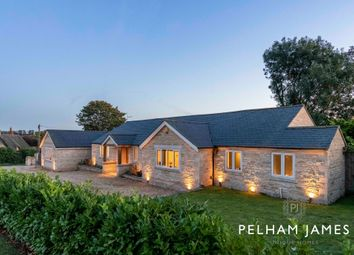 Thumbnail 4 bed detached bungalow for sale in Whitwell Road, Empingham, Oakham