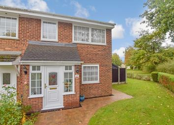 Thumbnail 3 bed end terrace house for sale in Rich Close, Great Leighs, Chelmsford