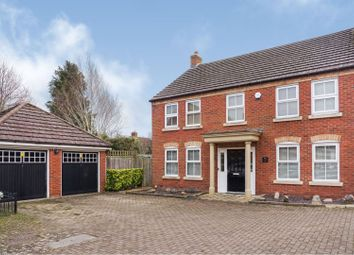 Thumbnail 4 bed detached house for sale in Wainwright Mews, Swindon
