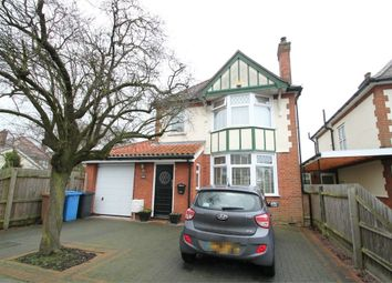 Thumbnail 3 bed detached house for sale in Norbury Road, Ipswich, Suffok