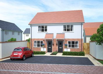 Thumbnail 2 bedroom end terrace house for sale in Walters Field, Roundswell, Barnstaple