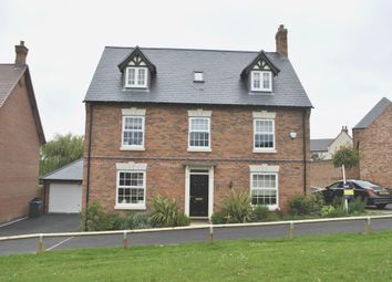 Thumbnail 5 bed detached house for sale in James Way, Scraptoft