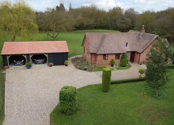 Thumbnail 3 bed detached bungalow for sale in Shimpling Road, Lawshall, Bury St. Edmunds