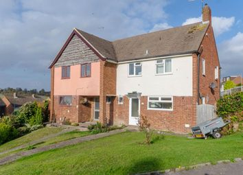 Thumbnail 3 bed semi-detached house for sale in Hazel Grove, Chatham, Kent