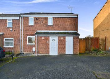 Thumbnail 2 bed semi-detached house for sale in Tattershall Walk, Mansfield Woodhouse, Mansfield