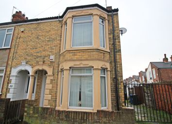 Thumbnail 3 bed end terrace house to rent in Swinburne, Hull
