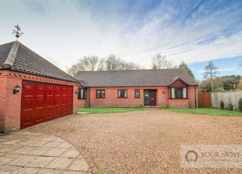 Thumbnail 4 bed bungalow for sale in Staithe Road, Burgh St. Peter, Beccles