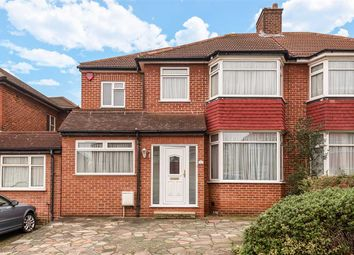 Thumbnail 5 bed semi-detached house to rent in Braithwaite Gardens, Stanmore