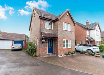 Thumbnail 3 bed detached house for sale in Henry Burt Way, Burgess Hill