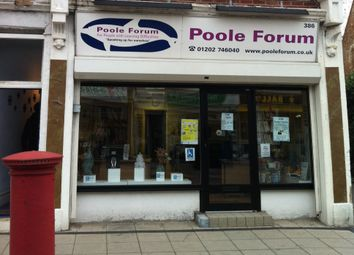 Thumbnail Retail premises to let in 386 Ashley Road, Parkstone, Poole, Dorset