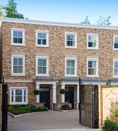 Thumbnail 5 bedroom town house for sale in Burlington Lane, Chiswick, London