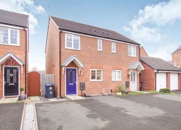Thumbnail 2 bed semi-detached house for sale in Edale Close, Warrington