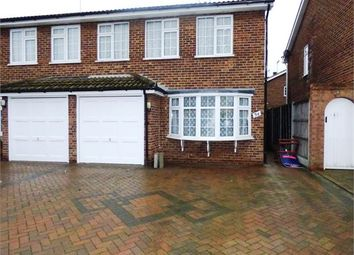 Thumbnail 3 bed semi-detached house for sale in Fairview Drive, Westcliff On Sea