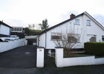 Thumbnail 3 bed semi-detached bungalow to rent in Craigs Road, Ballynahinch, Down