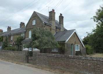Thumbnail 4 bed end terrace house for sale in Harty Ferry, Oare, Faversham
