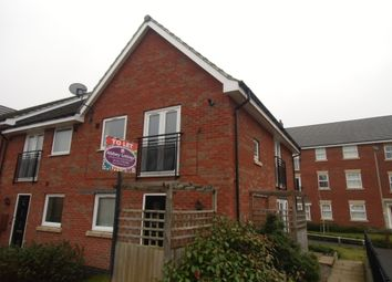 Thumbnail 1 bed town house to rent in Padside Close, Leicester