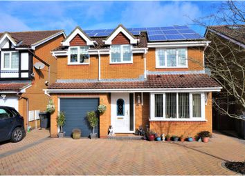 Thumbnail 4 bed detached house for sale in Wood Close, Hatch Warren, Basingstoke