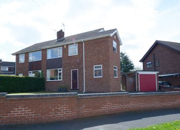 Thumbnail 3 bed semi-detached house for sale in Davian Way, Walton, Chesterfield