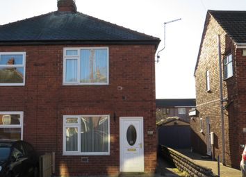 Thumbnail 2 bed semi-detached house for sale in Dawber Street, Worksop