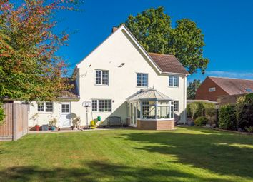 Thumbnail 4 bed link-detached house for sale in Stoke Road, Leavenheath, Colchester