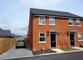 Thumbnail 2 bedroom semi-detached house for sale in Thomas Way, Norwich