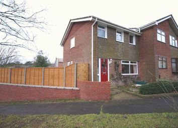 Thumbnail 3 bed semi-detached house for sale in Dore Avenue, Portchester, Fareham
